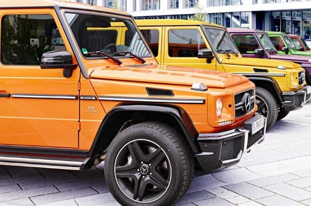 Mercedes G63 G65 AMG Crazy Color