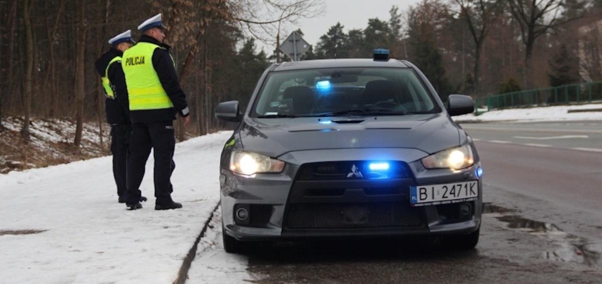 Mitsubishi Lancer Evo: policja, Białystok