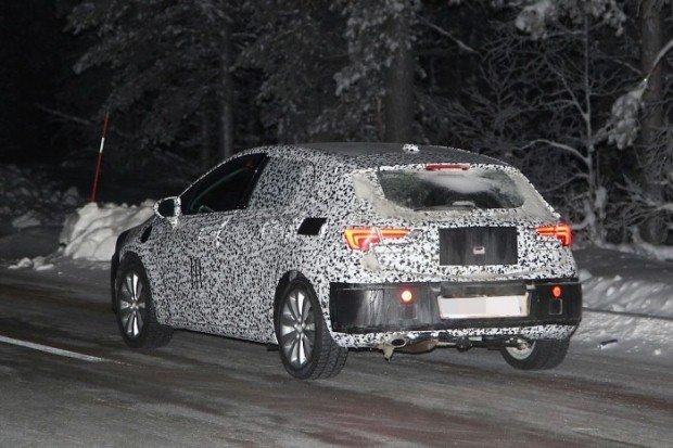 Opel Astra 2016 spy
