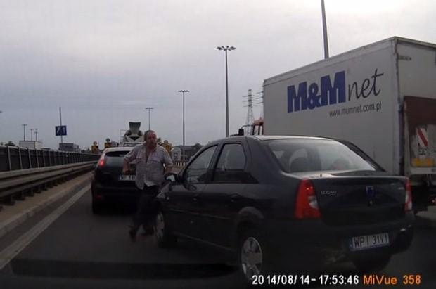 Agresywny kierowca