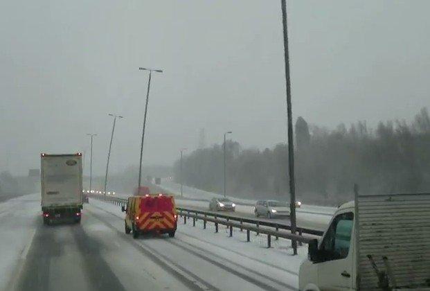 Road Snow