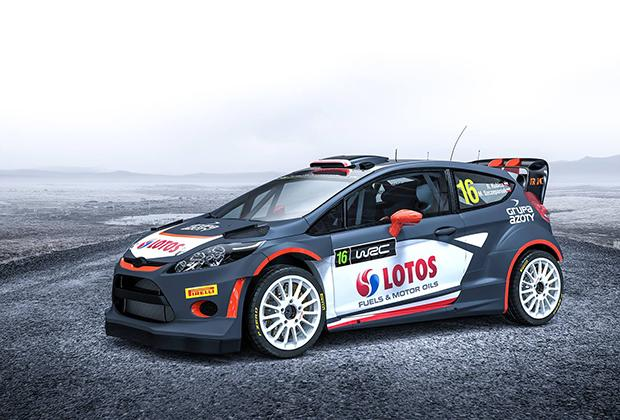 Robert Kubica World Rally Team