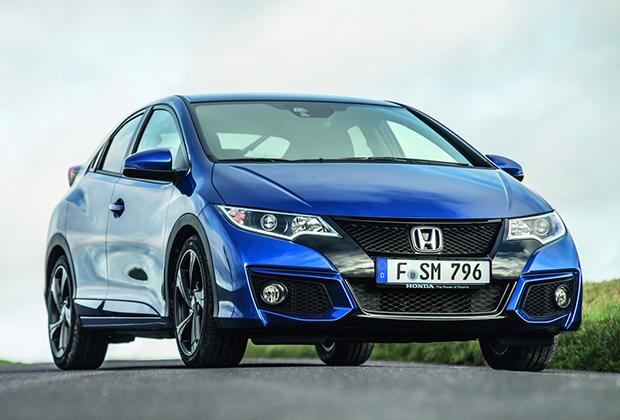 Honda Civic 2015 facelift