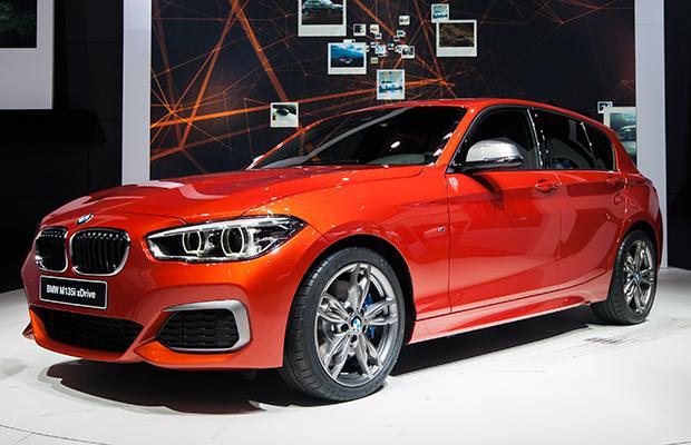 BMW Serii 1 Genewa 2015