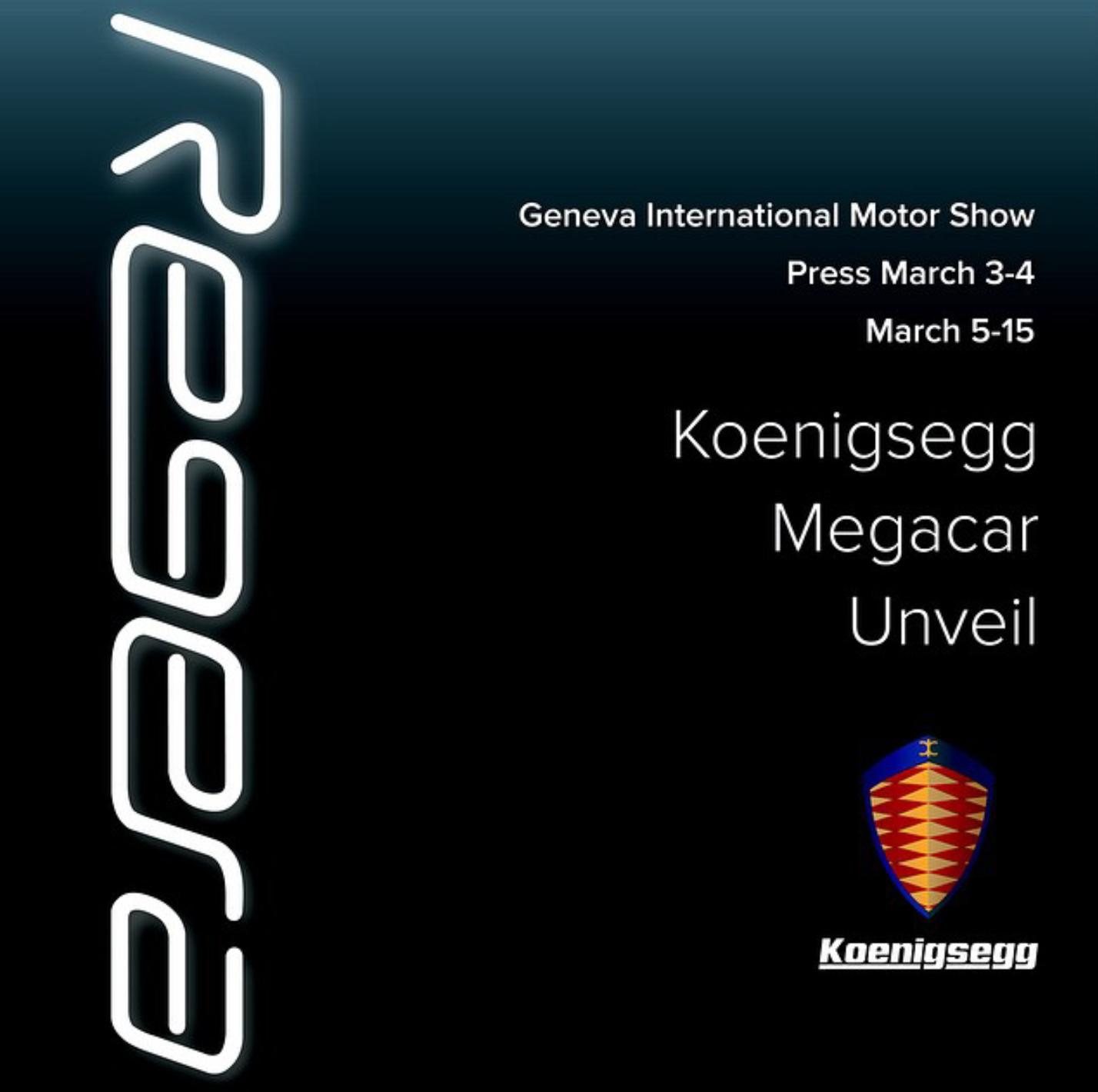 Koenigsegg Regera zapowiedz