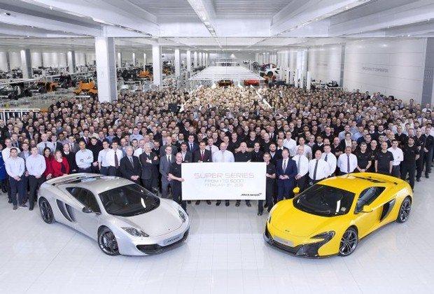 McLaren produkcja
