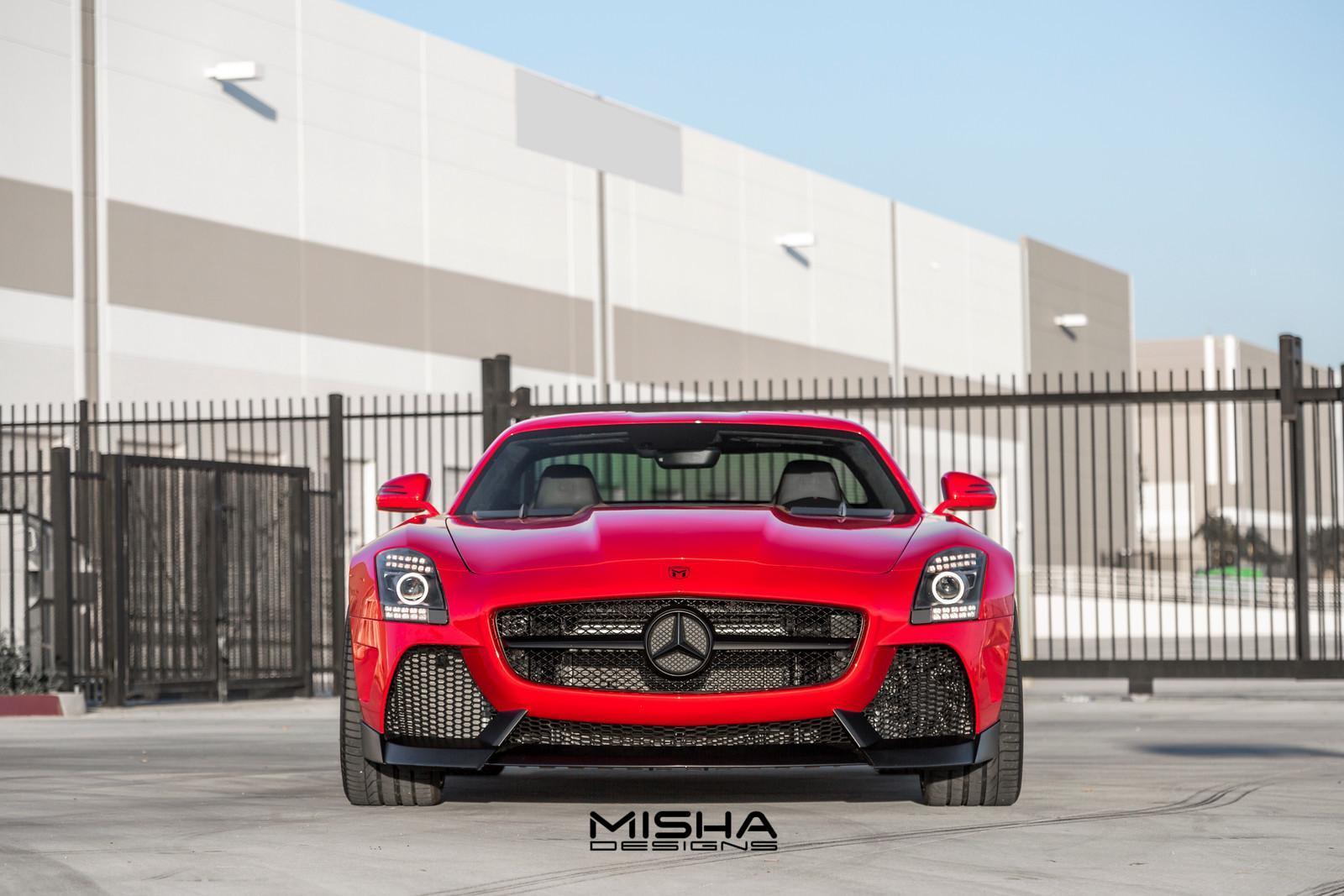 Mercedes SLS AMG Misha Design