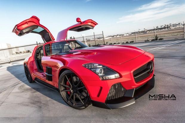 Mercedes SLS AMG tuning