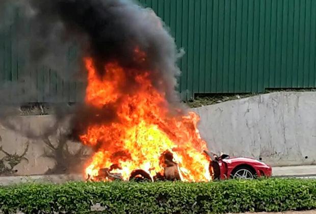 Płonące-Ferrari