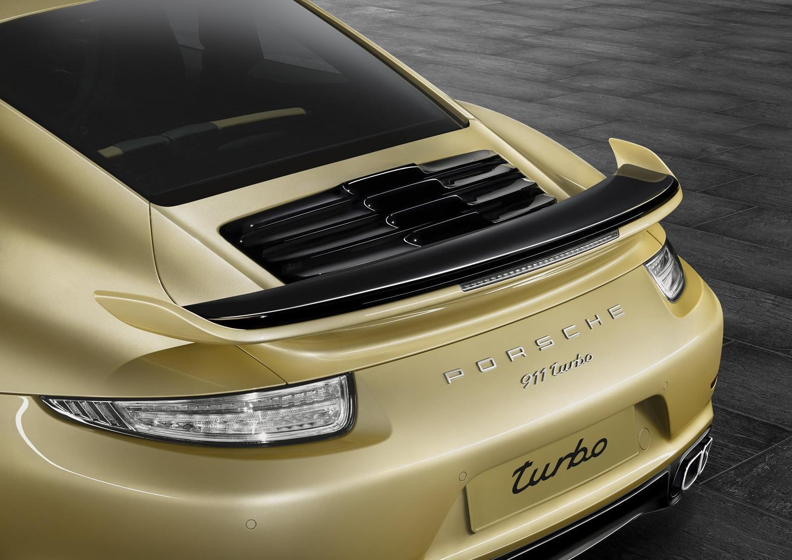 Porsche 911 Turbo S aerokit 2015