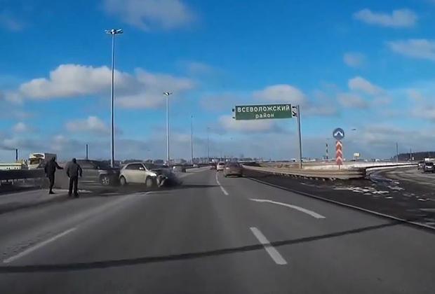 Rosja wypadek autostrada
