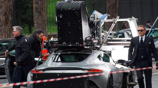 James Bond Spectre spyshots