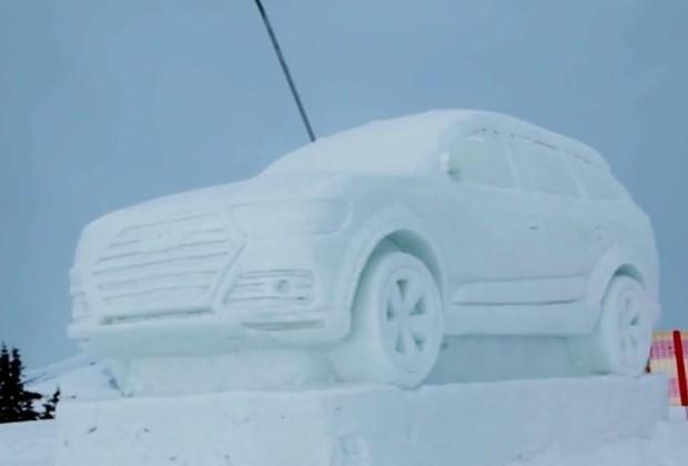 Audi Q7 Snow