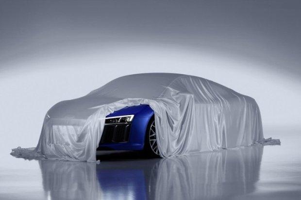 Audi R8 2015 teaser
