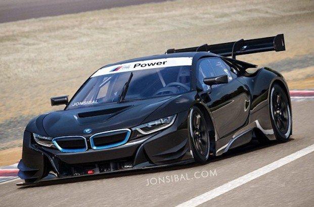 BMW i8 GT3 render