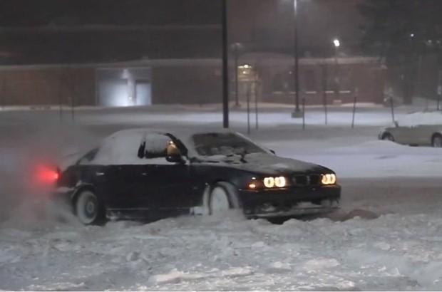 BMW M5 E39 drift
