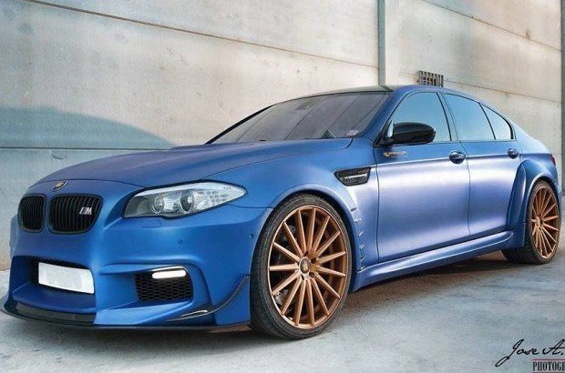 BMW M5 tuning Prior Design