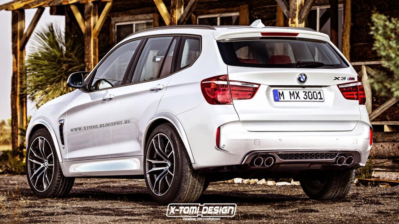 BMW X3M Rendering