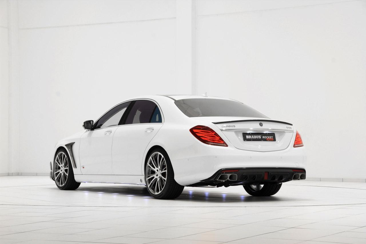 Mercedes S Klasa Brabus Rocket 900