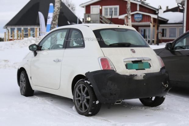 Fiat 500 2016 szpiegowskie