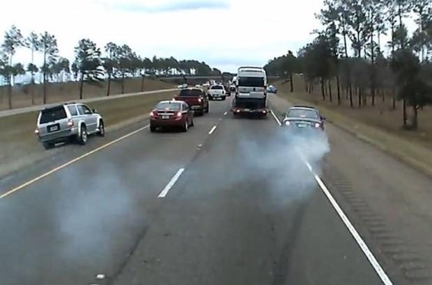 Hamowanie na autostradzie