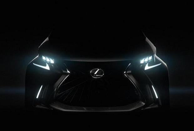 Lexus Lf-Sa Concept 2018