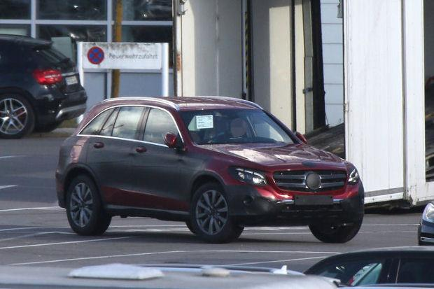 Mercedes GLC spy
