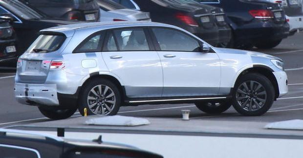 Mercedes-Benz GLC spy