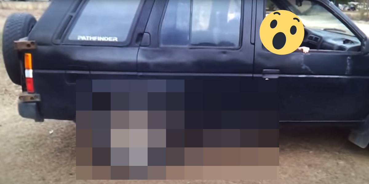Nissan Pathfinder 1 gen