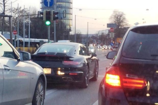 Porsche 911 Turbo facelift spy