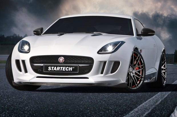 Jaguar F-Type Startech tuning