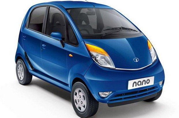 Tata Nano blue