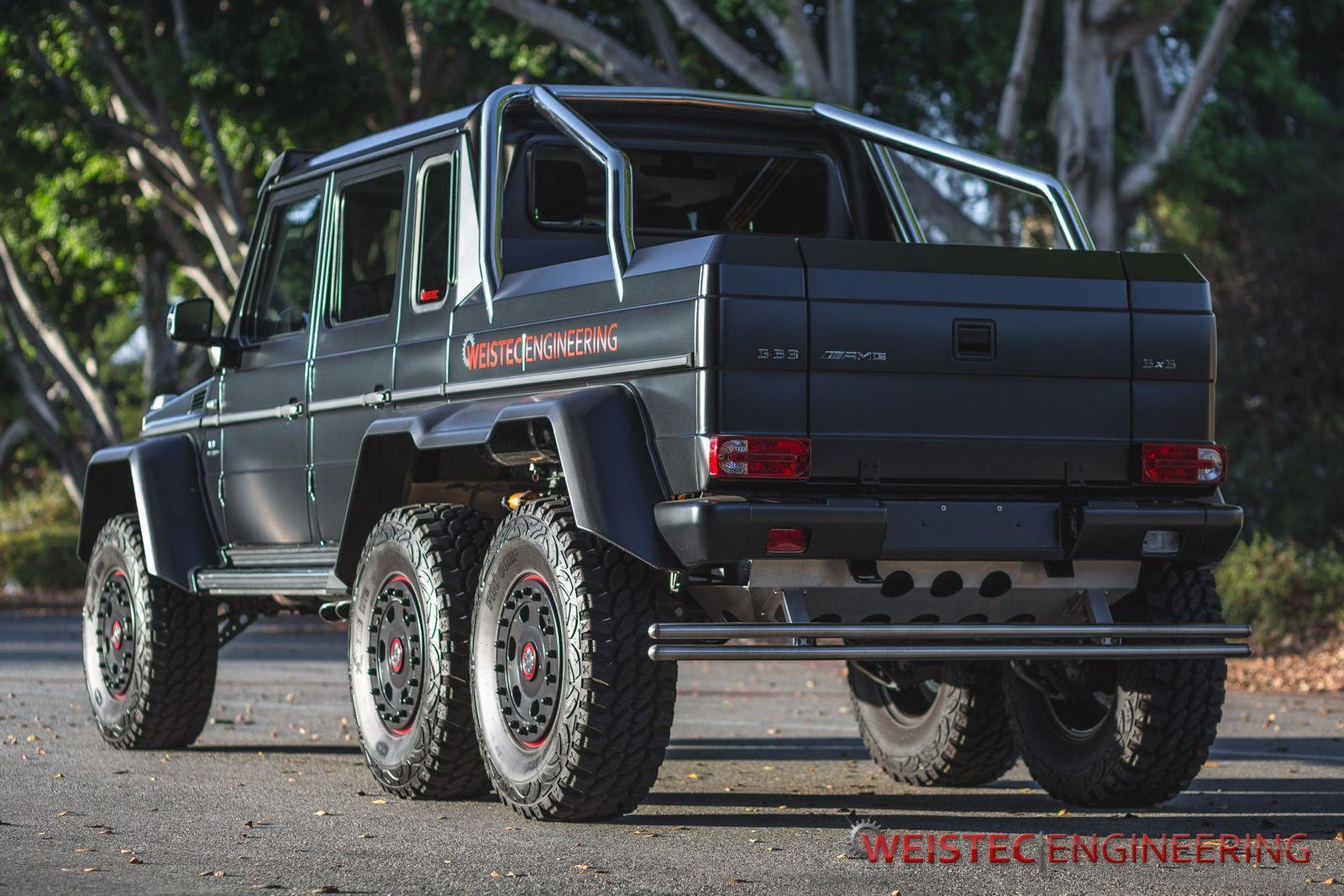 Mercedes-Benz G63 AMG 6×6 Weistec Engineering