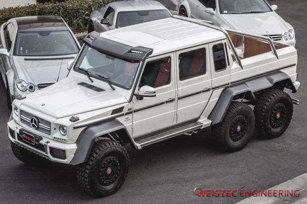 Mercedes-Benz G63 AMG 6×6 Weistec Engineering