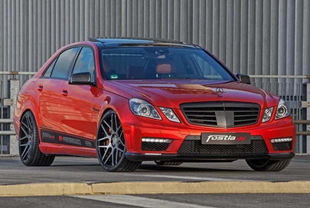 Mercedes-Benz E63 AMG tuning