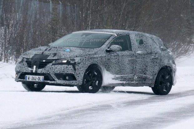 Renault Megane 2016 spy