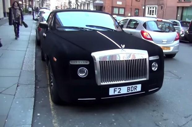 Rolls-Royce Phantom Drophead aksamit