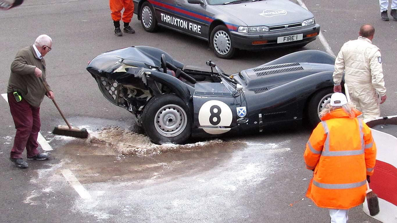 Wypadek Goodwood 2015