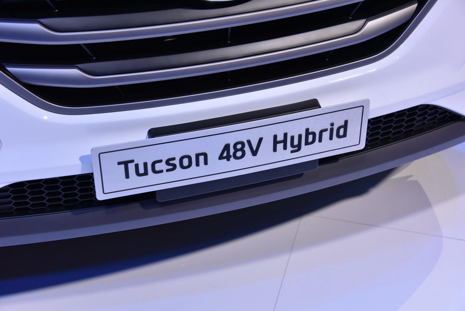 Hyundai Tucson 48V Hybrid 2015