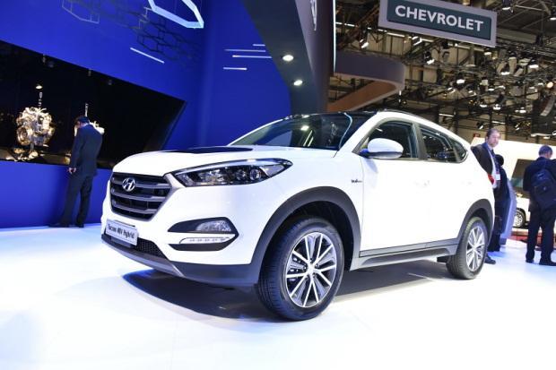 Hyundai Tucson 48V Hybrid