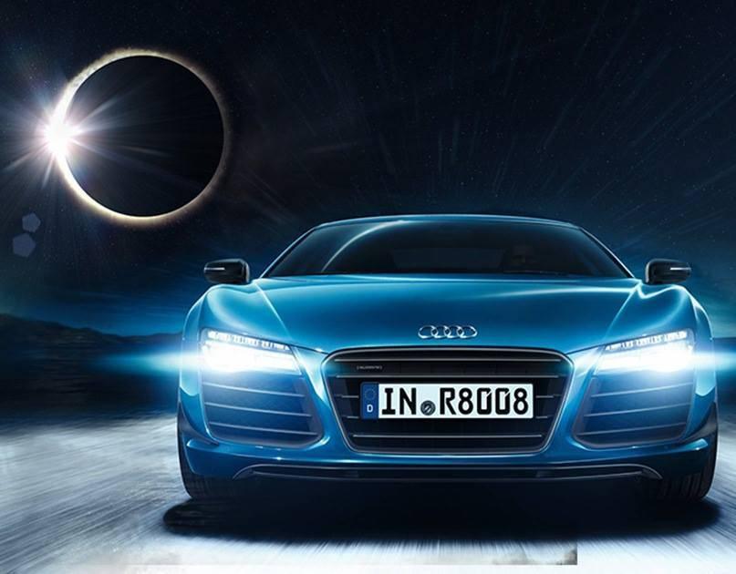 Audi Zacmienie Slonca