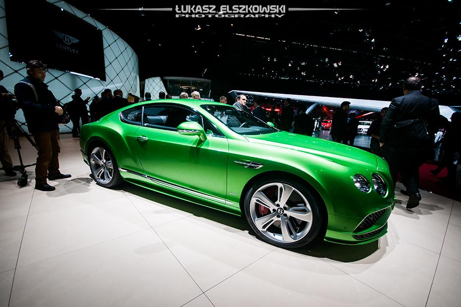Bentley Continental GT Genewa 2015