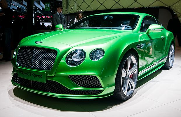 Bentley Continental GT Genewa 2015