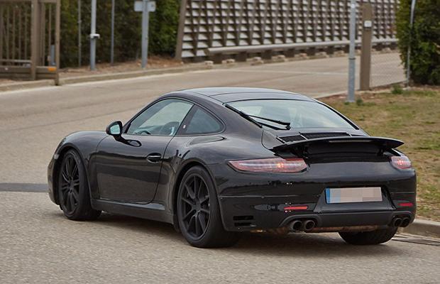 Porsche 911 facelifting