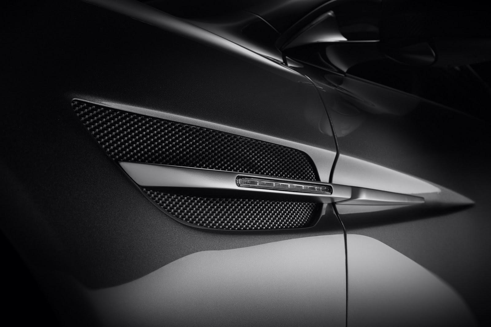 Fisker Thunderbolt Aston Martin V12 Vanquish