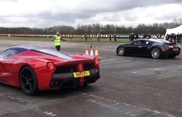 LaFerrari vs. Bugatti Veyron