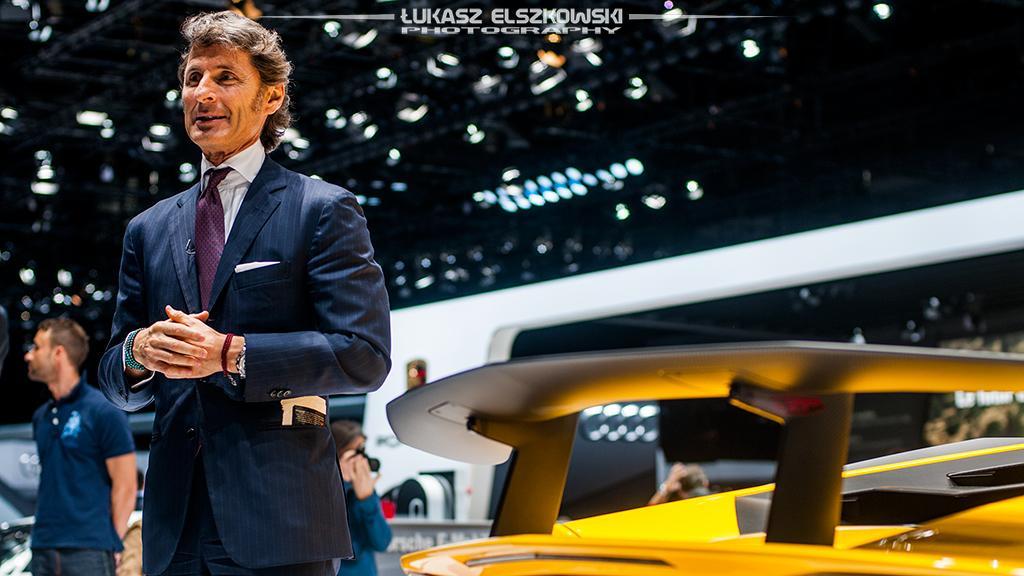 Lamborghini Aventador LP750-4 SV Genewa 2015