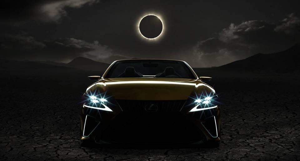 Lexus Zacmienie Slonca