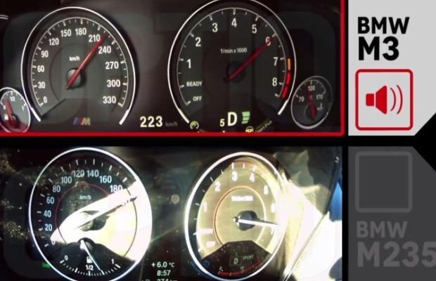 BMW M235i vs. M3