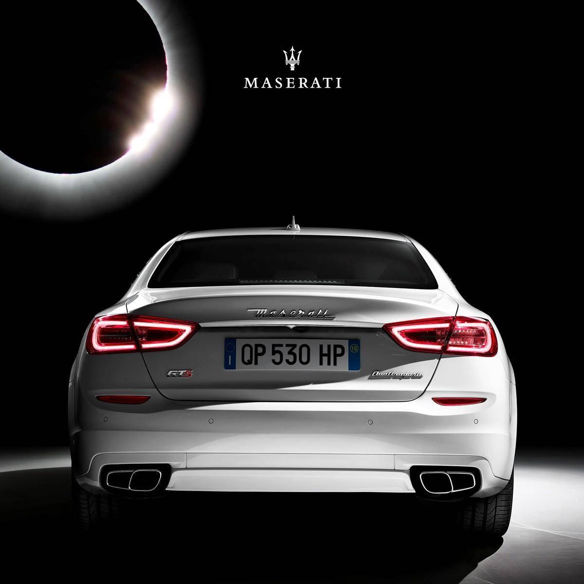 Maserati Zacmienie Slonca